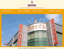 Tablet Preview of 1hotel.com.my